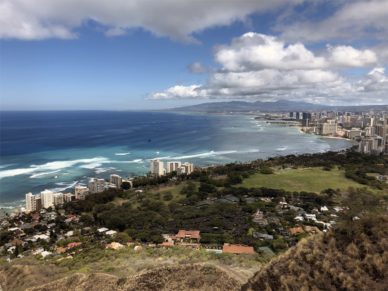 Diamond Head Ride & Hike